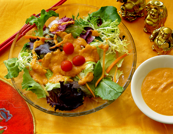 Light Asian Ginger Salad